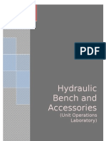 Hydraulic Bench and Accessories