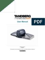 Videoconferencing Tandberg 990 880 770 Mxp User Manual