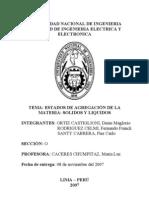 Informe Quimica Nº 03 2007-II