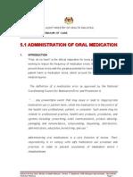 Adm of Oral Medication-sep 08_edited 3 Dec 2008