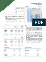 Derivatives Report 9th December 2011