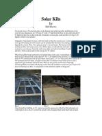 Solar Kiln by Bill Stuewe