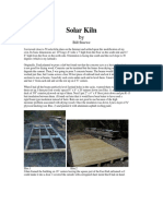 Solar Kiln by Bill Stuewe