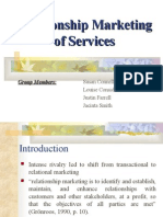 Relationship Marketing of Services