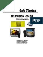 12545 Panasonic CT-Z1426LW Z1416W Z1426LW Z1426W G2156W G2166LW Manual Entrenamiento