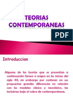 Teorias Contemporaneas Expo