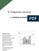6° integracion numerica