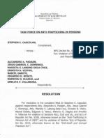 Trafficking Case Against POEA officials Dismissed