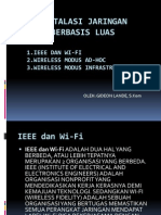 Wireless Modus Ad-hoc