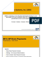 Sap Business One Down Payment Invoices Setup and Processing 110610063927 Phpapp02