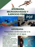 Hiperbaria Micro Grave Dad y Ejercicio Fisico