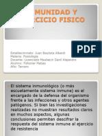 Inmunidad y Ejercicio Fisico