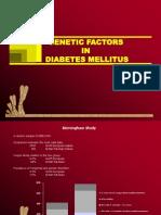 Genitic Factor in DM