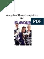 Flavour - Sket Magazine Analysis