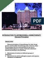 Antibacterial Chemotherapy