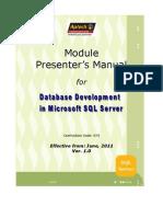 373_Module PM_DB Dev MS SQL Server_v1.0