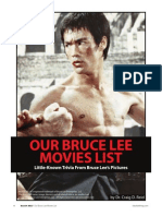 Bruce Lee Movies List