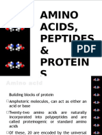 Amino Acids, Peptides & Proteins