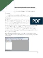 Program Kuis Pg Dngan Power Point