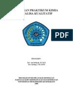 Laporan Praktikum Kimia Analisa Kualitatif