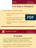 Introduction to Bias