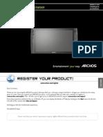 User Guide en FR ES Archos 9 V3