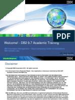 DB2 Classroom 1.0 - Welcome
