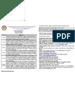Lista de Materiais 2012