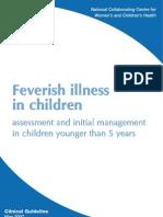Nice Guidelines Feverish Children_fulledition