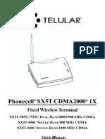 Telular Manual