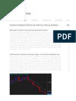 Forex Indikátorok és Árfolyam Elemzés