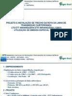 EMENDA T - 138kV - APRESENTAÇÃO XXI SNPTEE
