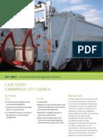 Case Study Cambridge City Council 14001 9001 18001 UK