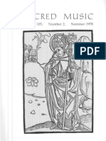 Sacred Music, 105.2, Summer 1978; The Journal of the Church Music Association of America