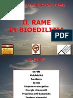 Rame in Bioedilizia