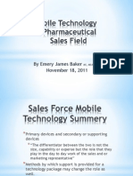 Mobile Tech Pharma Sales