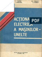 Action Area Electrica a Masinilor Unelte