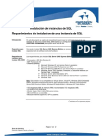 Instalacion de Instancias de SQL Server (CONTPAQ)