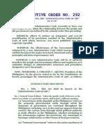 Administrative Code