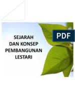 Nota Topik 1 - Pengenalan Pendidikan Alam Sekitar & Pembangunan Lestari 2