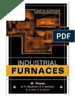 Industrial Furnaces, 0471387061