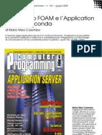 Il protocollo FOAM e l'Application Server Anaconda