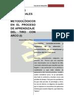 Enseñanza de Tiro con arco_metodologia_1