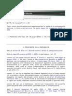 Testo Unico Delle Disposizioni Regolamentari in Materia Di to Militare