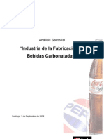 Análisis Sectorial Industria Bebidas Gaseosas Chile