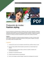 2012_Producción de modas fashion styling