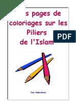 Piliers de L'Islam A Colorier