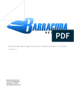 Barracuda Message Archiver Admin Guide