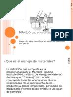 MANEJO DE MATERIALES