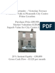 Plymouth - £865 Monthly Cashflow - £30,050 Equity - 25% Discount